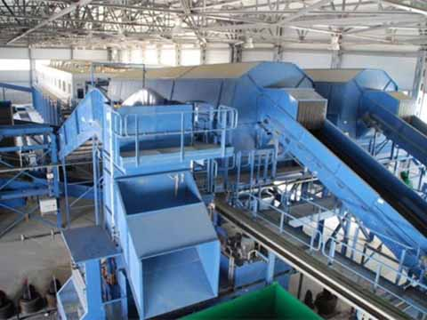Low Price Waste Recycling Plant in Kingtiger