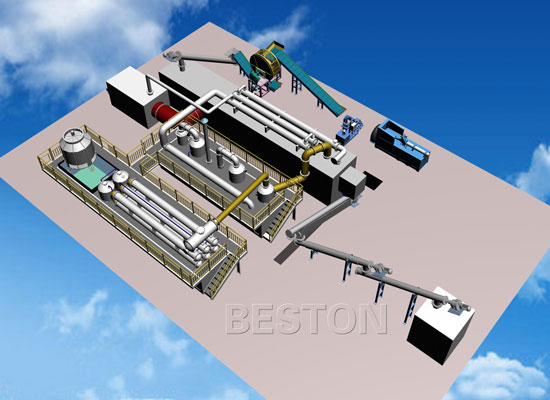 Continuous Pyrolysis Plant Design