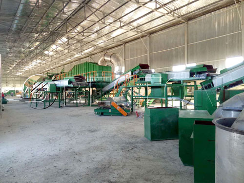 Automated Solid Waste Segregation System