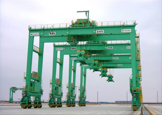 Order a gantry container crane for sale